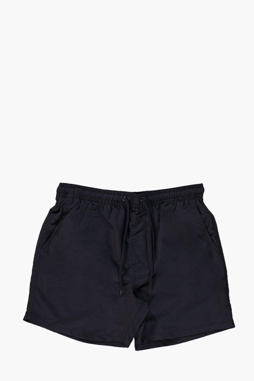 Short Length Plain Swim Shorts