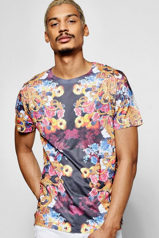 All Over Floral T Shirt
