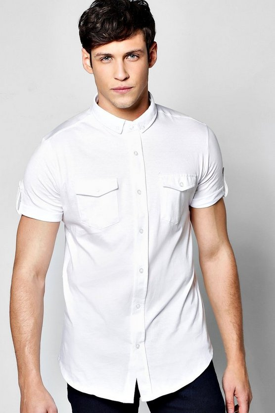Short Sleeve Jersey Shirt