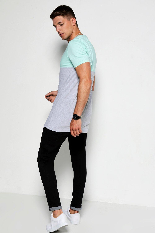 Boohoo-T-shirt-lunga-sagomata-a-sezioni-simmetriche-per