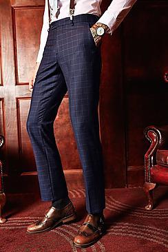 1960s Menswear Clothing & Fashion Ideas Slim Fit Suit Trousers  AT vintagedancer.com