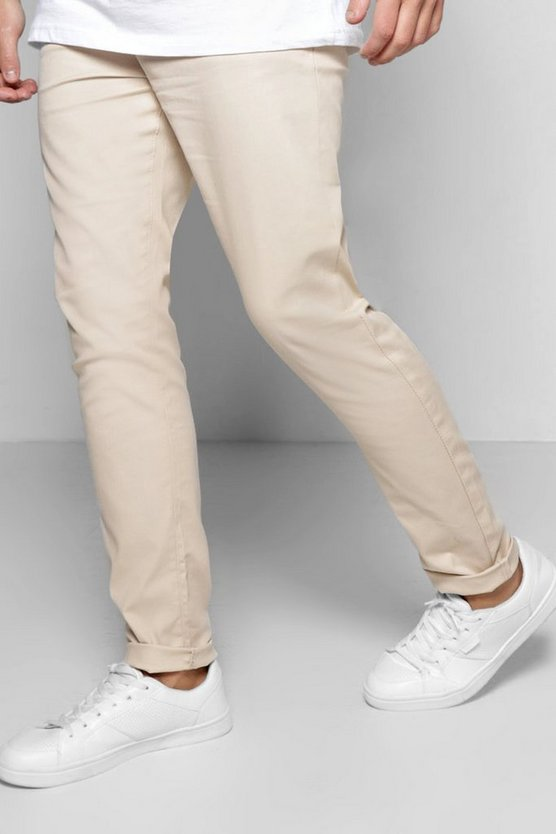 Pantalon chino skinny stretch