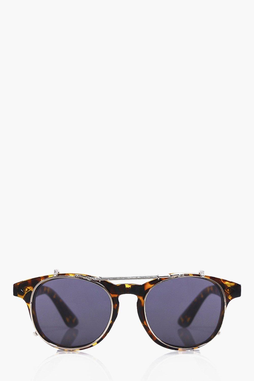 Wire Frame Round Lens Sunglasses | Boohoo