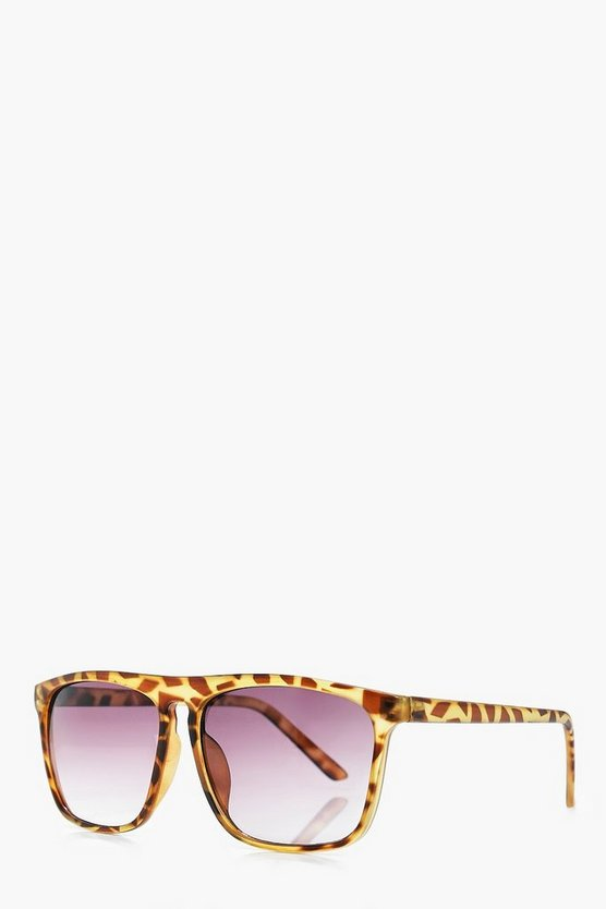 Brown Tortoise Shell Classic Sunglasses