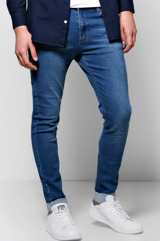 Skinny Fit Washed Jeans