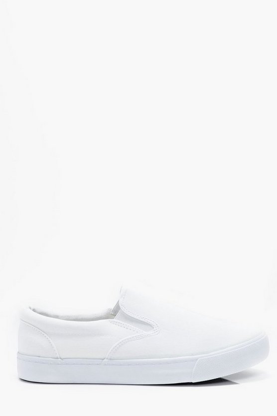 Canvas Slip On Plimsoll