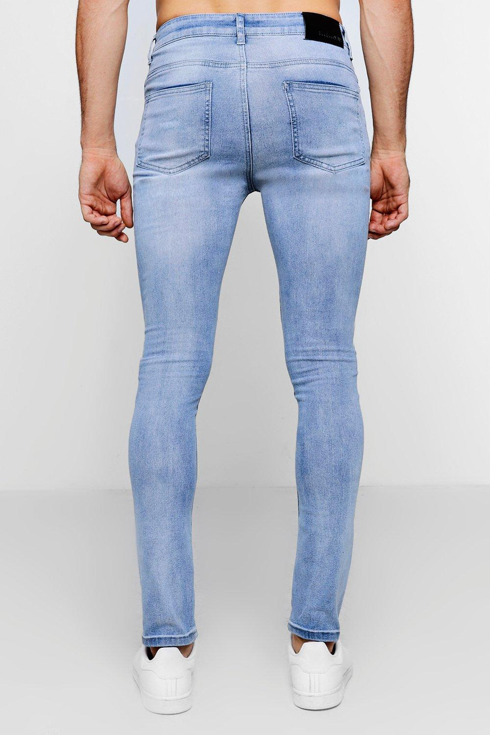 Ripped Over pale Jeans blue All Fit Super Skinny v1ZUBw