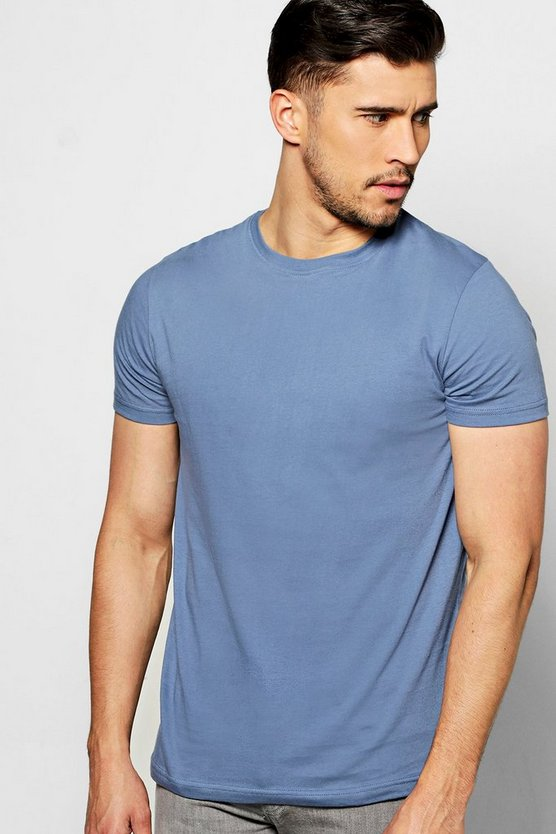 T-shirt basic girocollo