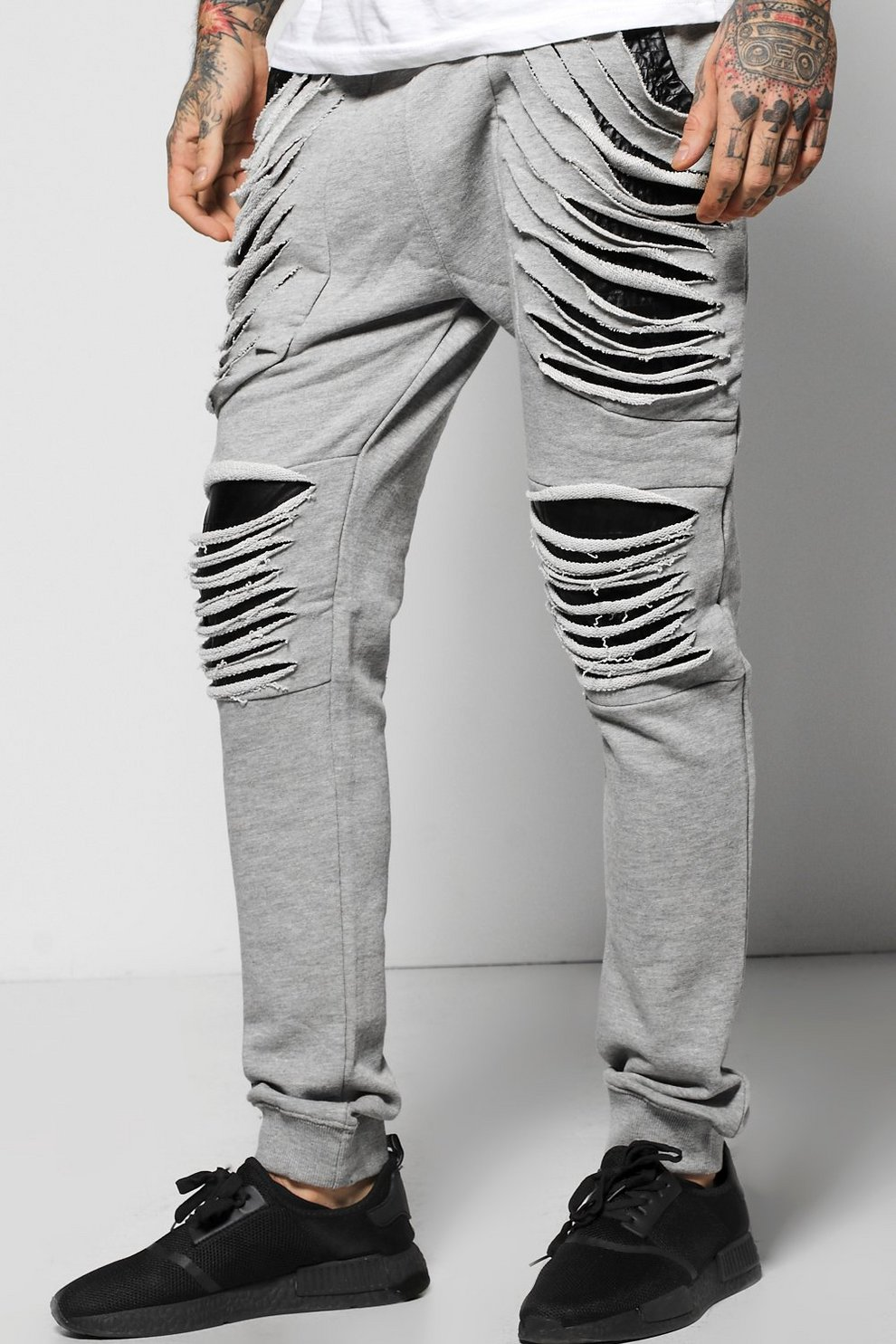 0fe59b4d Skinny Extreme Distressed Joggers