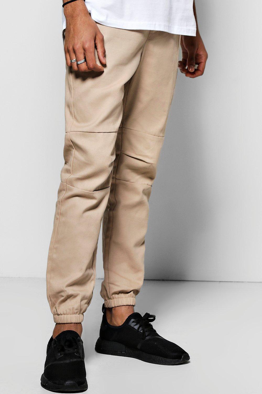 c3a553c773 Skinny Fit MA1 Cotton Twill Joggers   Boohoo