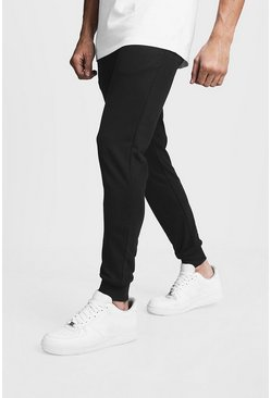 Herr Black Slim Fit Joggers