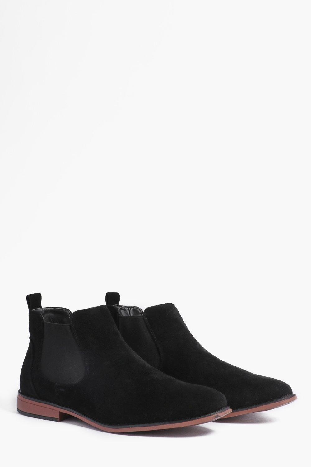wholesale sales strong packing buying cheap Faux Suede Chelsea Boots | Boohoo