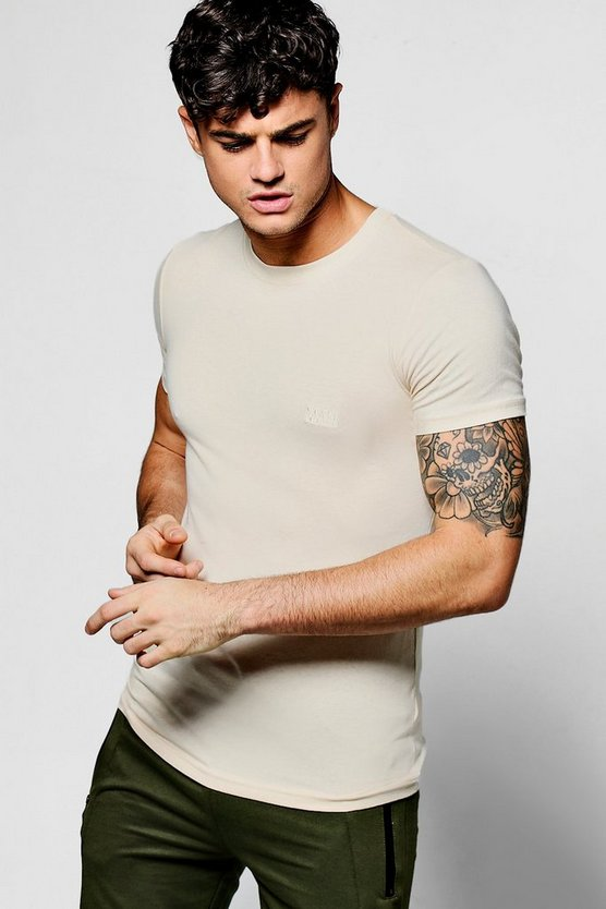 Short Sleeve MAN Muscle Fit T-Shirt