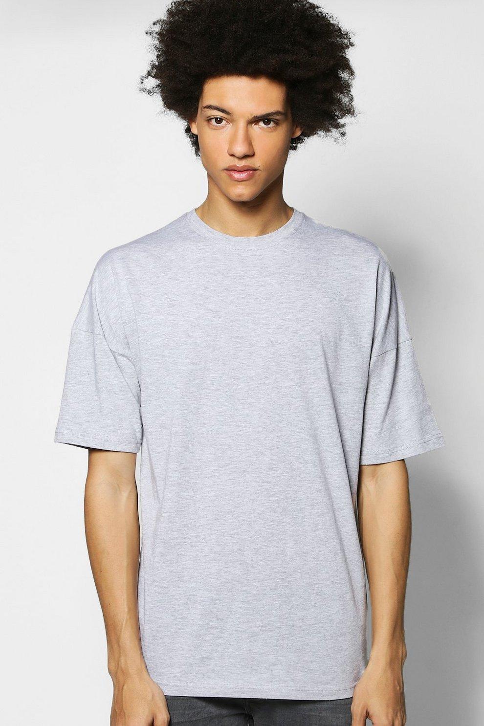 0c3332e69 Oversized Drop Shoulder T-Shirt   Boohoo