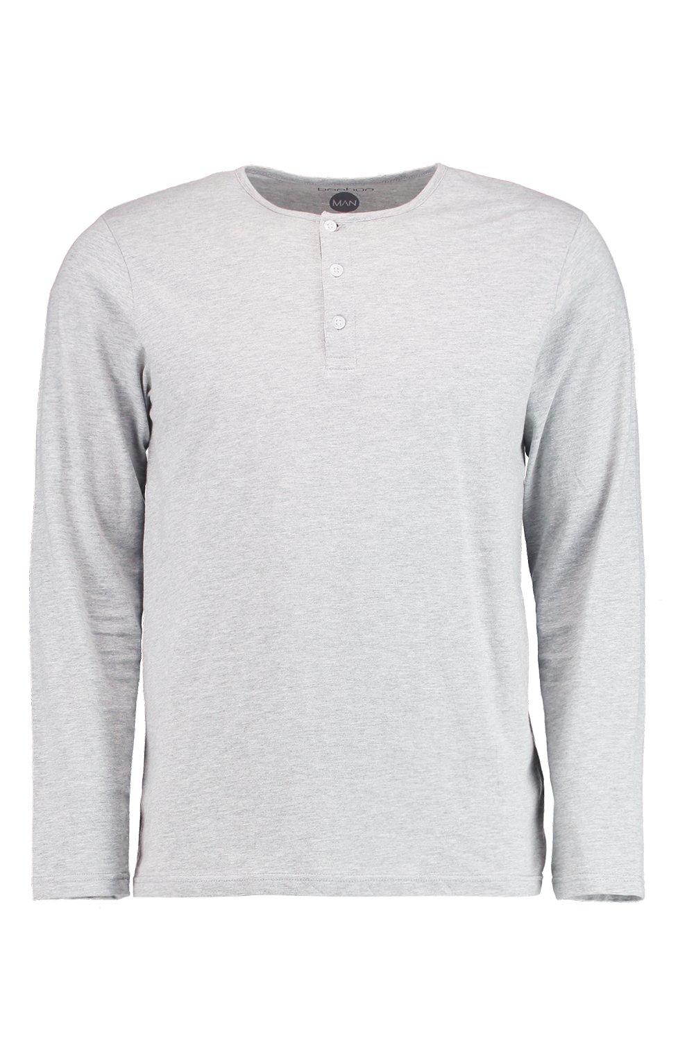Mens Alpine Lakes long sleeve thermal waffle knit Henley with a crew neck, 3 button closure and a regular fit. % Polyester. Machine wash. Mens Arrow Hamilton long sleeve button down woven sport shirt with a chest pocket, wrinkle free material, regualr fit and a button detail collar. 55% Cotton, 45% Polyester. Mens Shirts & Tops.
