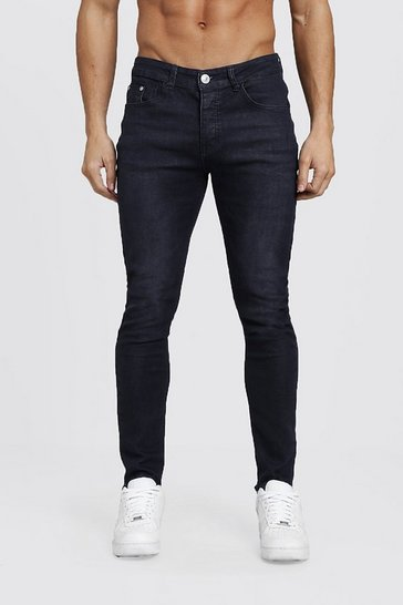 Washed black Skinny Stretch Fashion Jeans