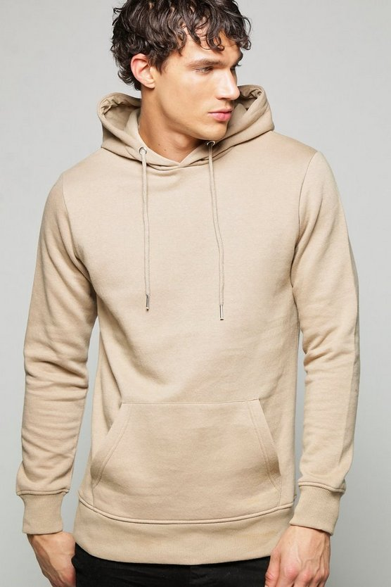 Lightweight Basic Over the Head Hoodie