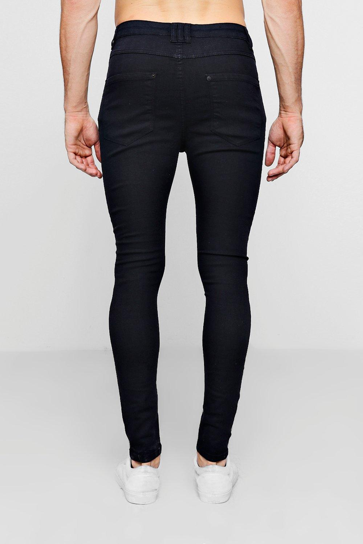 negro en skinny negro Jeans rociados BvOnwqxW7