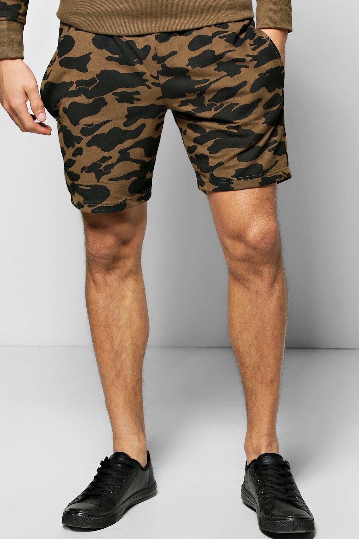 economico per lo sconto acfd6 acb11 pantaloncini mimetici in jersey   Boohoo