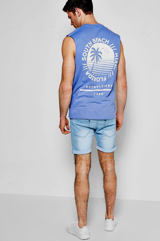 descoloridos Shorts pálido azul skinny denim xwvfWqaRSg
