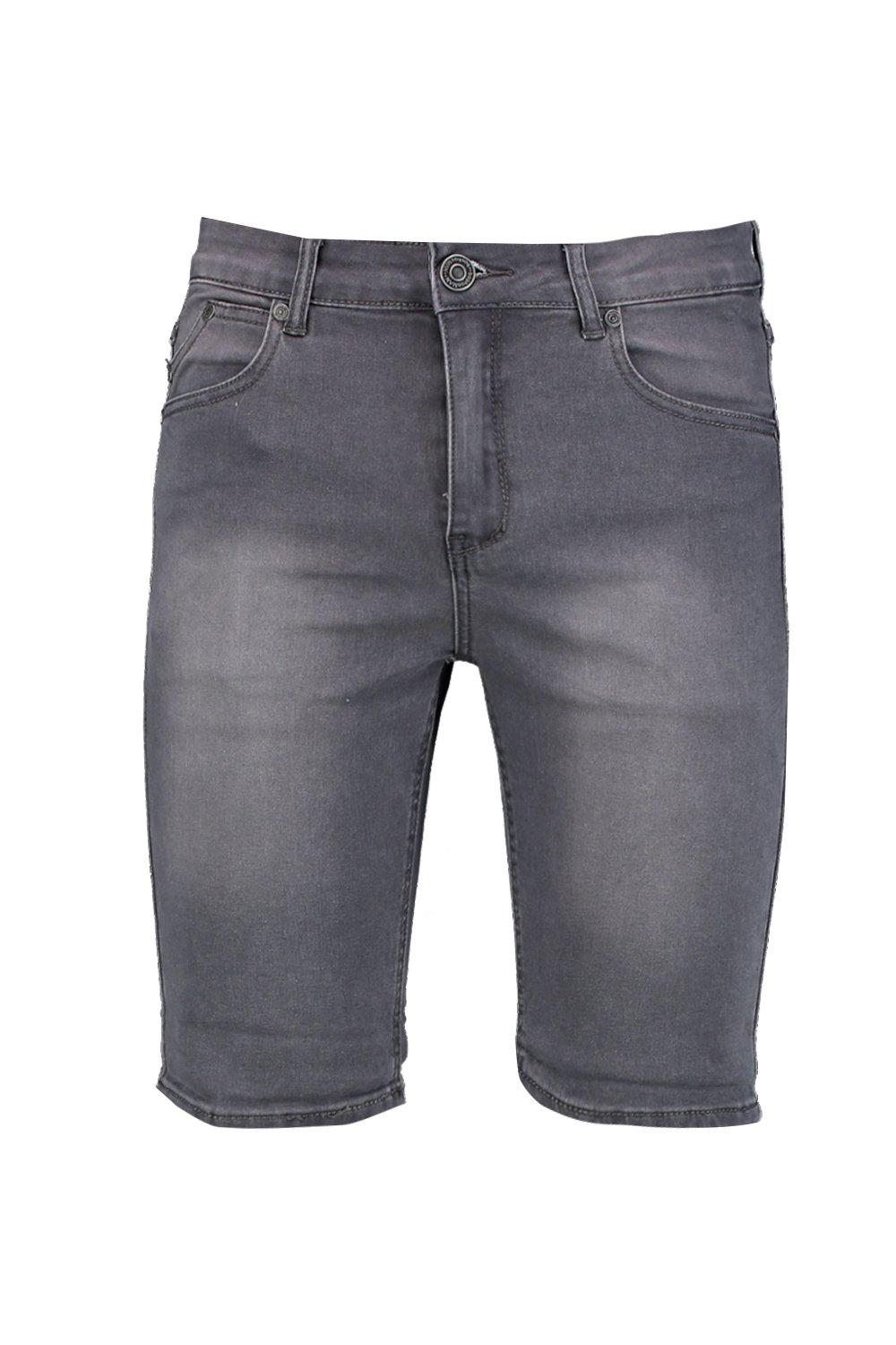 Shorts Skinny Denim Charcoal Fit charcoal Washed YYq4gap