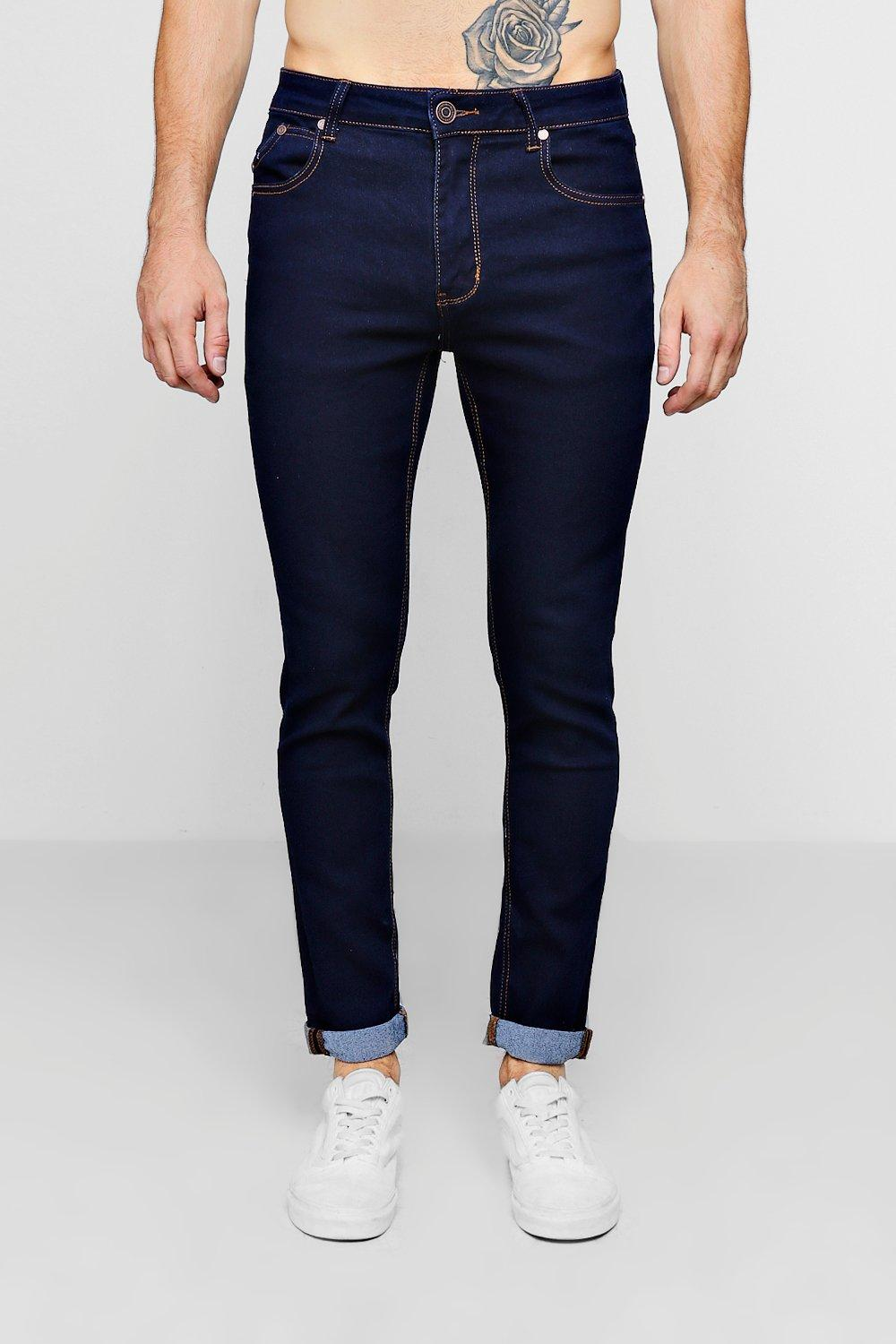 Skinny Fit indigo Jeans Turn Up xnZ1Owqzng