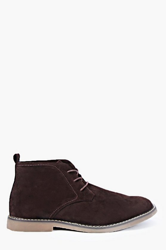 Mens Brown Desert Boots
