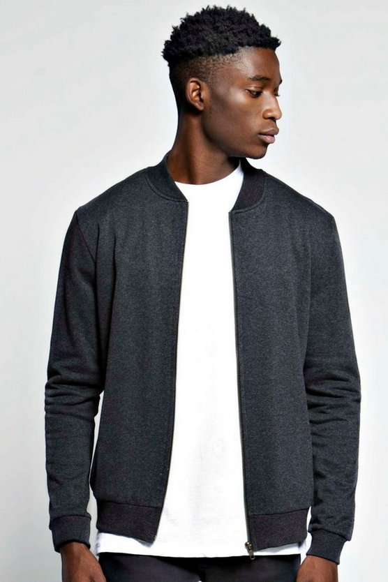 Slim Fit Jersey Bomber