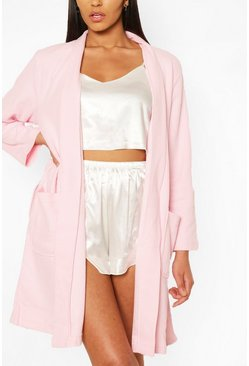 Light pink Waffle Dressing Gown