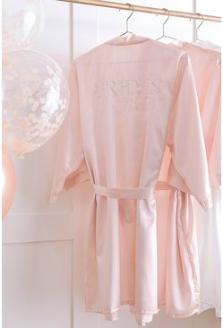 Blush Ginger Ray Brides Besties Dressing Gown