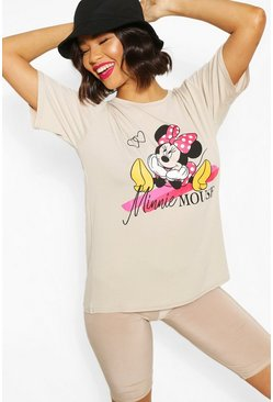 T-shirt Disney à imprimé Minnie, Roche