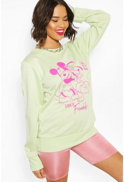 Sage Disney Graphic Sweat