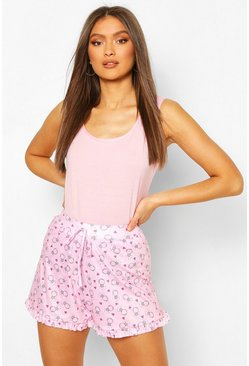 Pink Mix & Match Jersey PJ Vest