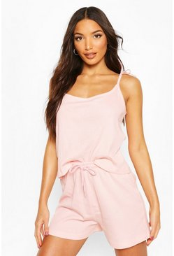 Blush Mix & Match Ribbed PJ Short