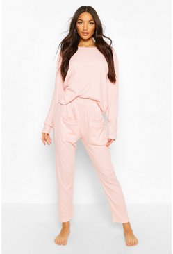 Blush Mix & Match Ribbed PJ Bottoms