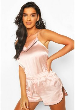Rose gold Mix & Match Satin Cami