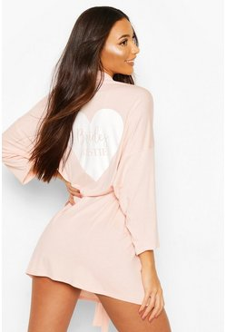 Robe jersey Brides Bestie, Blush