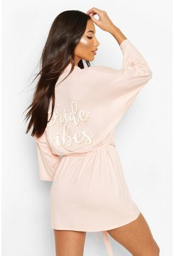 Blush Bride Vibes Jersey Robe
