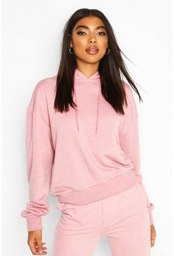 Blush Basic Soft Mix & Match Oversized Hoodie