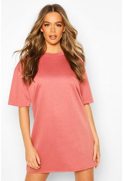 Dam Rose Oversized Lounge Sweat Dress
