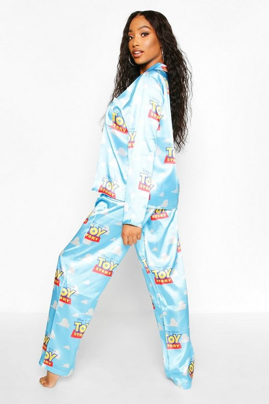 Disney License Toy Story Satin PJ Trouser Set