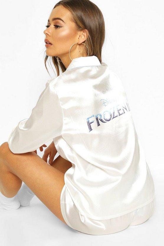 Disney Frozen Satin Short Pyjama Set