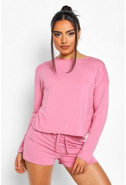 Rose Short Sweat Pyjama Set