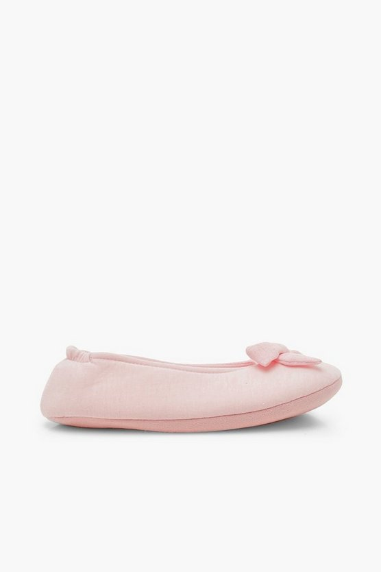 Bow Soft Pump Slippers