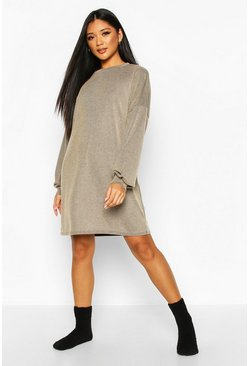 Dam Tan Acid Wash Rib Oversized Lounge Dress