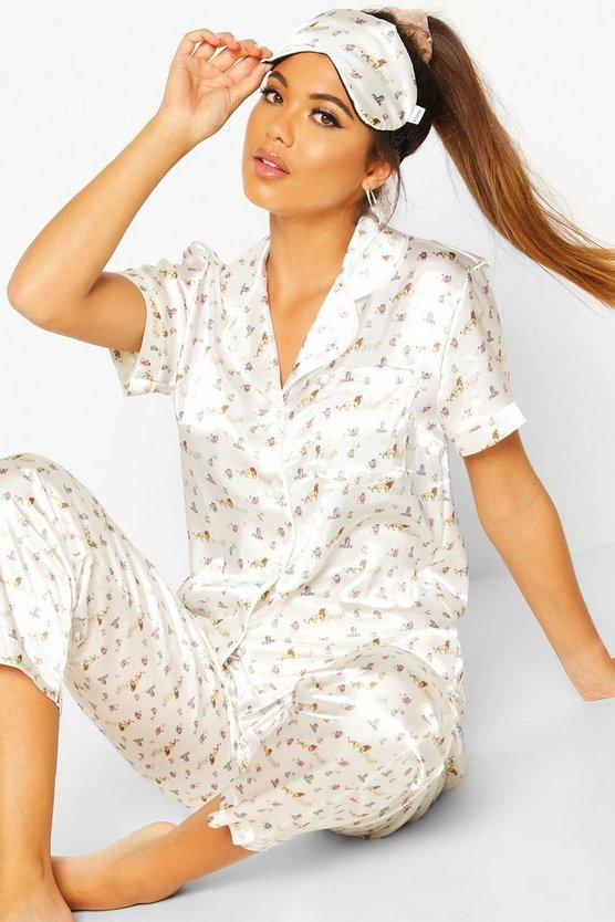 Disney Lion King Satin 3 Piece PJ Set