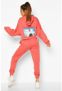 Blush Disney Princess Ariel Hooded Lounge Set