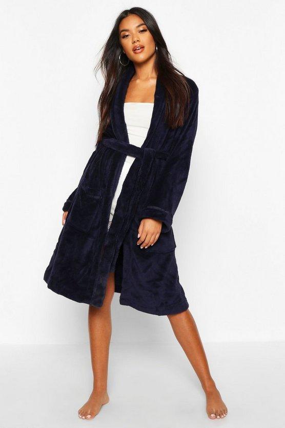 Soft Fleece Dressing Gown