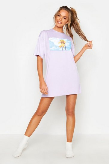 Lilac Disney License Lion King Night Tee