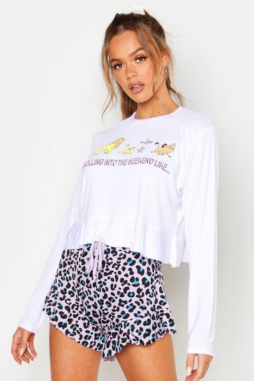 Lilac Disney License Lion King PJ Short Set